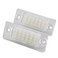 cheap Car LED Lights-Light Bulbs 1.44W W SMD 3528 lm 18 Tail Light ForVolkswagen Passat 2005 2004 2003 2002 2001