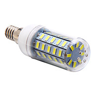 billige Kornpærer med LED-3.5W 250-300lm E14 LED-kornpærer T 48 LED perler SMD 5730 Naturlig hvit 220-240V