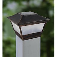 halpa -alumiini auringon valo postitse korkki ja akut kannella lamppu