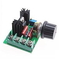 billige Elektrisk udstyr og materiale-2000W scr spænding regulator modul / dæmpning / motor hastighedsregulator / termostat