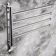 Χαμηλού Κόστους Σειρά μπάνιο-Κρεμάστρα Σύγχρονο Ορείχαλκος 1 τμχ - Ξενοδοχείο μπάνιο 4-μπαρ με πετσέτες