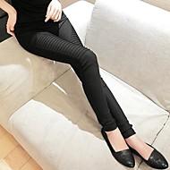 Žene Dnevno Osnovni Legging - Jednobojni Medium Waist