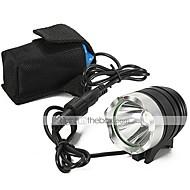 Lanternas LED LED 2200 lm 3 Modo Cree XM-L U2 Com Carregador Recarregável Impermeável Campismo / Escursão / Espeleologismo Uso Diário