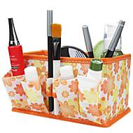 vouwen quadrate cosmetica opberghouder make-up borstel pot cosmetische organisator 3 kleur kiezen