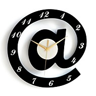 Modern/Contemporary Characters Wall Clock,Round Plastic Indoor Clock