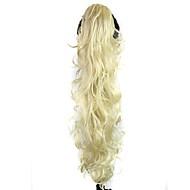 Kovrčav Konjski repići sintetički Kose za kosu Ugradnja umetaka Plavuša Dnevno