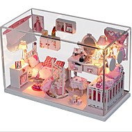 cheap Decorative Objects-DIY Dreamful Princess Cabin with Sound Controlled Lights