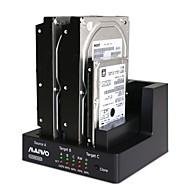 Χαμηλού Κόστους Βάσεις Φόρτισης-maiwo k3093 USB3.0 1: 2 κλώνος 3bay σκληρό δίσκο SATA σταθμού σύνδεσης αναπαραγωγής