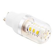 GU10 LED-kornpærer T 15 leds SMD 5730 Varm hvit 280lm 2500-3500K AC 85-265V