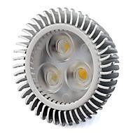 baratos Luzes LED de Dois Pinos-1pç 6 W 500 lm MR16 Lâmpadas de Foco de LED Contas LED COB Branco Quente / Branco Frio 12 V / RoHs