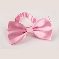 Unisex Vintage Party Pracovní Na běžné nošení Celý rok Motýlek,Jednobarevné Polyester Růžová