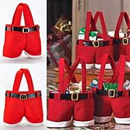 1 db 22 * 15 cm-es szentjánoskenyér nadrág, cukorka táska, otthoni dekoráció