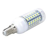 billige Kornpærer med LED-5w e14 led corn lyser t 56 smd 5730 500-600lm varm hvit kald hvit 3000 / 6500k ac 220-240v 1pc