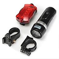 billige Sykkellykter og reflekser-Sykkellykter / Frontlys til sykkel / Baklys til sykkel LED - Sykling Vandtæt AAA 100 Lumens BatteriCamping/Vandring/Grotte Udforskning /