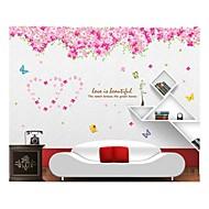 Tiere Weihnachten Blumen Botanisch Cartoon Design Wand-Sticker Flugzeug-Wand Sticker Dekorative Wand Sticker, Vinyl Haus Dekoration