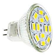 2W GU4(MR11) LED Spot Işıkları 12 led SMD 5730 Sıcak Beyaz Serin Beyaz 240-260lm 3500/6000K DC 12V