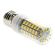 5W 450 lm E26/E27 LED-kolbepærer T 69 leds SMD 5730 Varm hvid AC 220-240V
