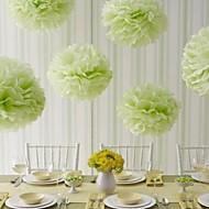 Χαμηλού Κόστους Λουλούδια από Χαρτοπετσέτες-Γάμου / Πάρτι / Γαμήλιο Πάρτι Μεικτό Υλικό Διακόσμηση Γάμου Άνθινο Θέμα / Κλασσικό Θέμα Όλες οι εποχές