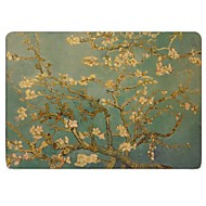Capa para MacBook para Flor Pintura de Óleo Plástico Material