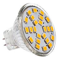 1pc 230 lm MR11 Faretti LED 24 Perline LED SMD 2835 Bianco caldo / Luce fredda / Bianco 12 V / 12-24 V