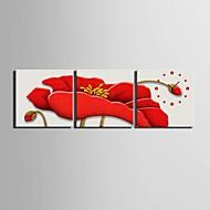 cheap Canvas Wall Clocks-Modern/Contemporary Canvas Square Indoor,AA Wall Clock