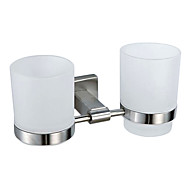 cheap Nickel Brushed Series-Toothbrush Holder Contemporary Stainless Steel Nickel Brushed