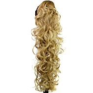Claw Clip Synthetic Ponytail 30 Inch Long Curly Hair Piece