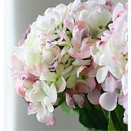 tanie -luksusowe duże kolorowe sztuczne kwiaty różowe hyfrangeas