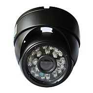billige IP-kameraer-dome utendørs ip kamera 720p e-post alarm nattesyn bevegelsesvarsling p2p