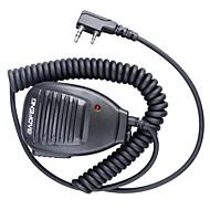 Baofeng 5R-mic ammatillinen laadukasta ainutlaatuinen muotoilu radiopuhelinsetti käsimikrofonilla