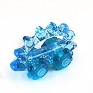 Auto Stil Kunststoff + Kautschuk manuell Massagegerät - blau