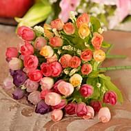 billiga Heminredning-Konstgjorda blommor 1 Gren Minimalistisk Stil Roser Bordsblomma