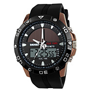 SKMEI Herre Sportsur Digital Watch Digital Kronograf Solar Dobbelte Tidszoner Bånd Luksus