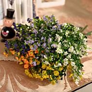 Gren Silke Plastikk Soleie Bordblomst Kunstige blomster