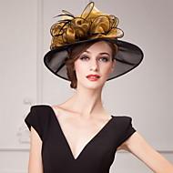 organza Kentucky Derby Şapkası / Şapkalar / Başlık ile Çiçek 1pc Düğün / Özel Anlar / Günlük Başlık