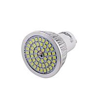 6W GU10 LED-spotpærer 48 SMD 2835 600 lm Kjølig hvit Dekorativ V 1 stk.
