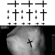 Serie de totemuri Acțibilde de Tatuaj - Negru - Model - 6*10.5cm (2.36*4.13in) - Dame/Bărbați/Adult/Adolescent - Hârtie -