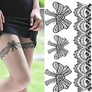 Χαμηλού Κόστους Τατουάζ, Τέχνη του Σώματος-1 pcs Αυτοκόλλητα Τατουάζ προσωρινή Τατουάζ Ρομαντική σειρά Φιλικό προς το περιβάλλον / Μιας χρήσης Τέχνες σώμα μπράτσο / Πόδι / Τατουάζ αυτοκόλλητο