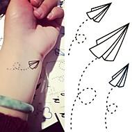 billiga Tatuering och body art-1 Tatueringsklistermärken Annat Ogiftig Ländrygg VattentätBarn Dam Herr Vuxen Tonåring Blixttatuering tillfälliga tatueringar