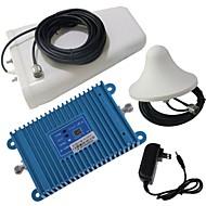 billige Signalforsterkere-intelligens lcd skjerm dual band GSM / DCS 900 / 1800MHz mobiltelefon signal booster forsterker + antenne kit