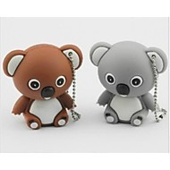 16GB USB-stik usb disk USB 2.0 Plast Tegneserie Komapkt Størrelse Koala bear
