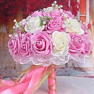 billige Kunstige blomster-Gren Styropor Roser Bordblomst Kunstige blomster 26 x 26 x 33(10.24'' x 10.24'' x 12.99'')
