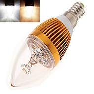 billige Stearinlyslamper med LED-350 lm E14 LED-lysestakepærer leds Høyeffekts-LED Varm hvit Kjølig hvit AC 85-265V