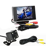 renepai® 3,5 hüvelykes monitor + 170 ° hd autó tolatókamera + nagy felbontású, széles látószögű vízálló CMOS kamera