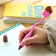 עט עֵט עטים כדוריים עֵט,סיליקון חָבִית שחור צבעי דיו For ציוד בית ספר ציוד משרדי חבילה של