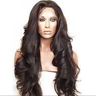 brazilian goedkope menselijk haar pruiken body wave menselijk haar volledige kant pruik zwarte kleur 130 dichtheid
