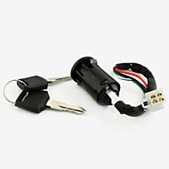 4 žice prekidač ključ za zaključavanje za moped skuter quad atv pit dirt bike
