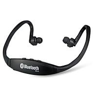 bs19 trådløs bluetooth on-ear sport headset hovedtelefoner (sort)