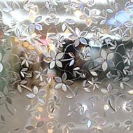 Floral Rústico Película para Vidros,PVC/Vinil Material Decoração de janela