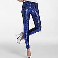 Jazz Bottoms Women's Sequined Sequin Dropped Sexy Maids & Servants Pants / Clubwear / Performance
